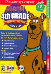 Scooby Doo 4th Grade Learning System