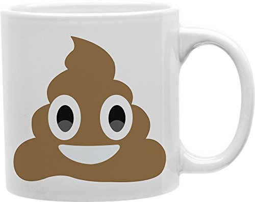 POOP Emoji Ceramic 11oz Coffee Mug