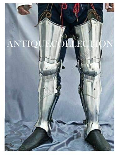 Medieval Combat Leg Guard Armor Fantasy Warrior Costume -