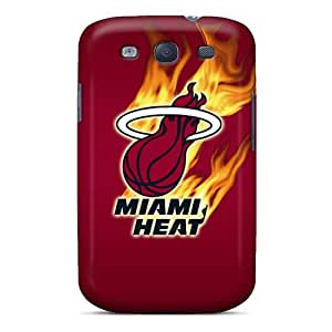 MansourMurray Samsung Galaxy S3 Excellent Cell-phone Hard Cover Custom Nice Miami Heat Series [CzS3760nlfU]