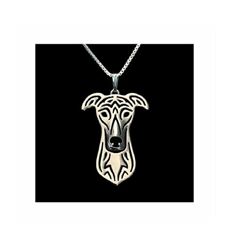 - MMBD Greyhound Necklace Silver-Tone