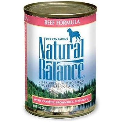 Natural Balance Pet Food Ultra Premium Dog Food Beef - 13 oz