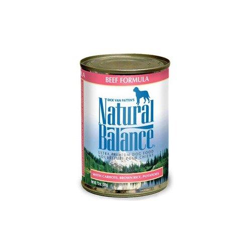 Natural Balance Pet Food Ultra Premium Dog Food Beef 13 oz