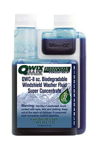 Qwix Mix Biodegradable Windshield Washer Fluid Concentrate