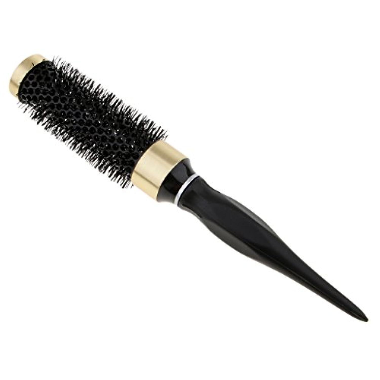 デジタルお客様アンティークKesoto ロールブラシ 耐熱仕様 ブロー カール 巻き髪 ヘアブラシ 櫛 全5サイズ - 32mm