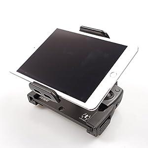 "Skyreat Mavic Air Pro Foldable Aluminum-Alloy 4-12"" iPad Tablet Mount Holder for DJI Mavic 2 Pro, Mavic 2 Zoom/Mavic Pro/Mavic Air, DJI Spark Accessories Remote Controller"