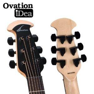 Ovation Elite 1778tx-5 negro guitarra electroacústica guitarra w/Pick Sampler, cuerdas, soporte, correa, cejilla duro caso: Amazon.es: Instrumentos ...