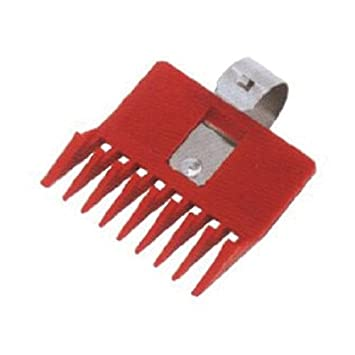 amazon com speed o guide spg0117 clipper comb red beauty