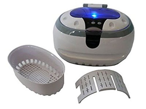 Generic Sonic Wave CD-2800 Ultrasonic Jewelry & Eyeglass Cleaner (White/Gray)