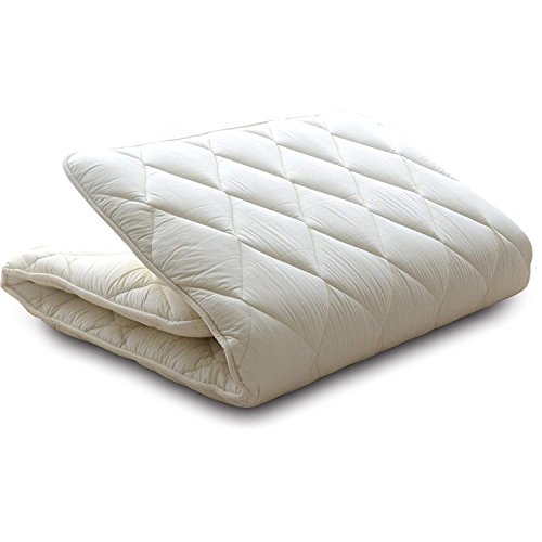 EMOOR Japanese Traditional Futon Mattress Classe (63 x 83in), Queen-Long Size, Made in Japan