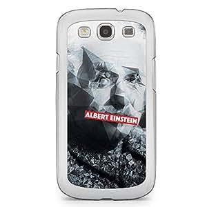 Albert Einstein Samsung Galaxy S3 Transparent Edge Case - Heroes Collection