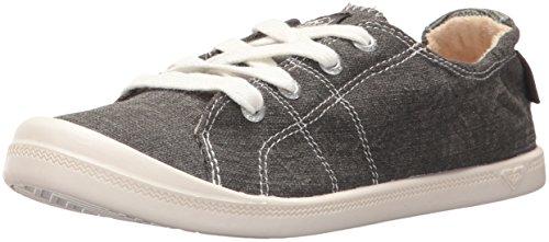 Roxy Frauen Bayshore Slip-On-Schuh Sneaker Grau schwarz