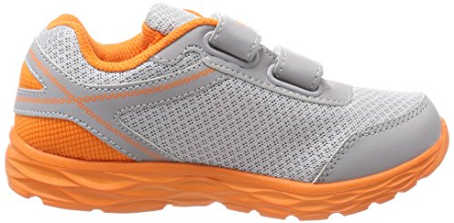Kangaroos vapor Unisex Niños Korro Grey orange Zapatillas Peel Grau 1OH1AB