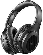 Noise Cancelling Kopfhoerer, Bluetooth Kopfhörer Utaxo kabellose kopfhörer Bluetooth 5.0 Over Ear Ohrhörer Wireless ANC Headset mit CVC 8.0 Mikrofon 30 Std Spielzeit für iOS Android TV