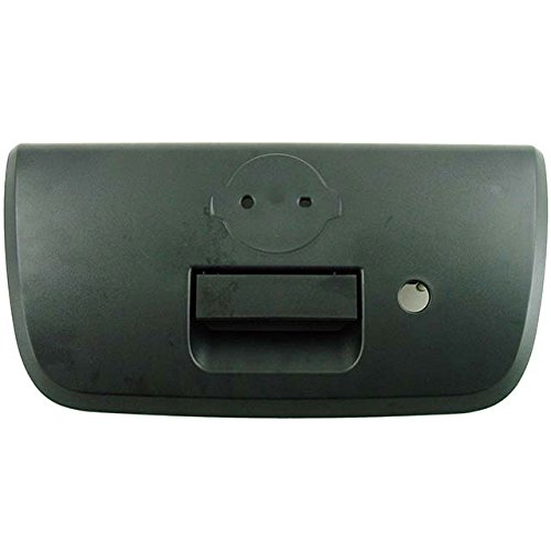 Tailgate Handle with Keyhole & Bezel For 01 02 03 04 Nissan Frontier Outer Black Textured Door Handles Assembly