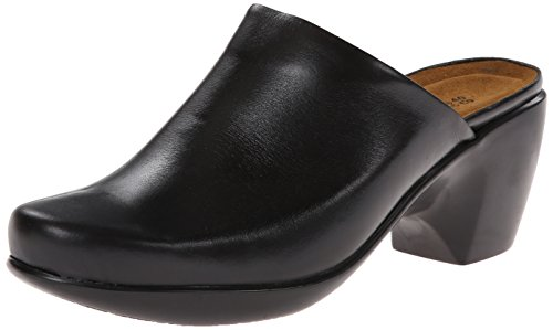 Naot Womens Dream Mule Black Madras Leather XND8ff