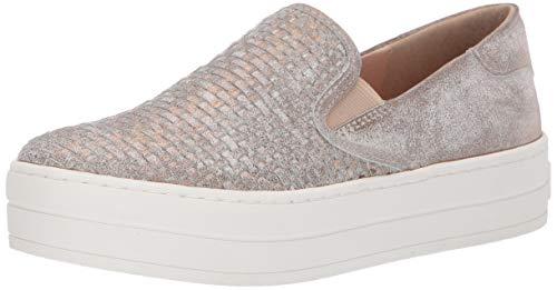 J/SLIDES JSlides Women's Halsey Shoe, Bronze Metallic Suede, 7.5 Medium ()