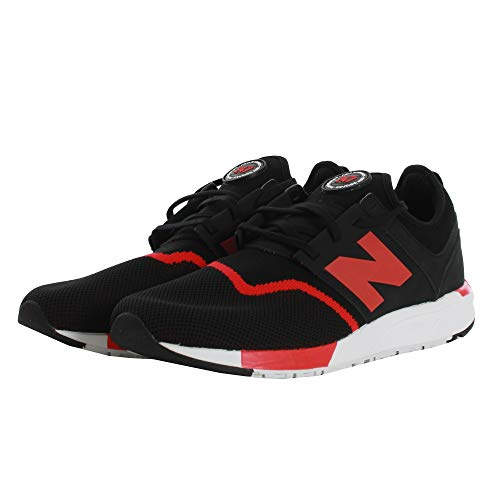 Hommes Sport Balance Rouge 247 Noir Sneakers New Ogq5Swq