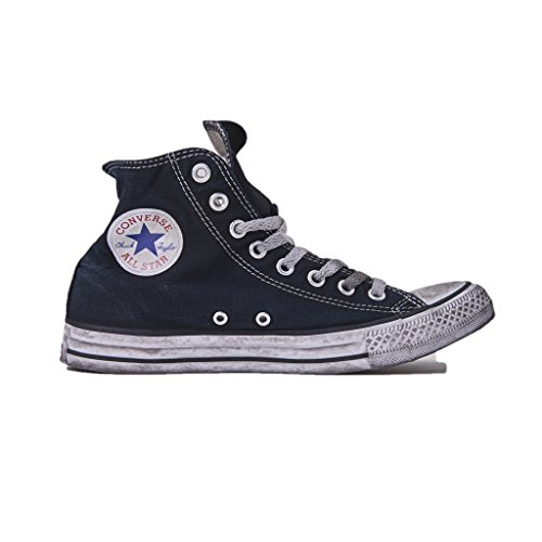 Taylor adulto LTD Alte Star Converse Unisex Chuck Sneakers Smoke Nere Tela All Nero Canvas High nero In SHRtg