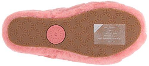 per Logo Fluff con Cinturino UGG Pantofole Yeah Sandali Donna e Elastico Lantana Rosa wUHwBZzxq