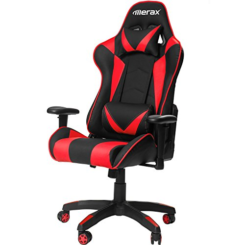 MERAX Gaming Chair High Back Computer Chair Ergonomic Des...