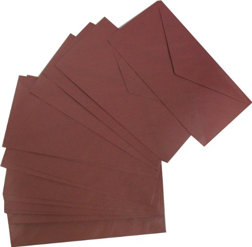 Paper State Centura Pearl DL 100gsm Envelope - Raspberry (Pack of 25) ()
