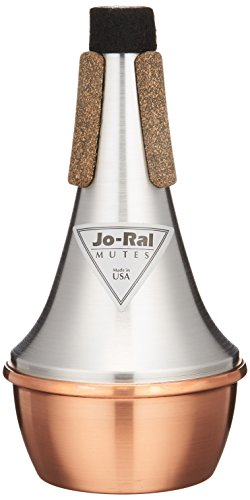 Jo Ral TPT-1C Trumpet Straight Mute, Copper Bottom