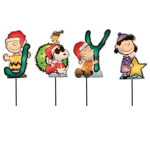 Peanuts Christmas Lawn Decorations