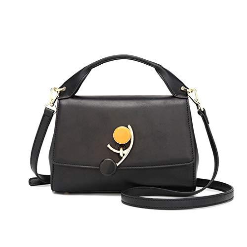 Kervinfendriyun capacità nero Nero Style Retro sospensione grande di Mobile Yy4 Baguette Bag di colore 867r8q