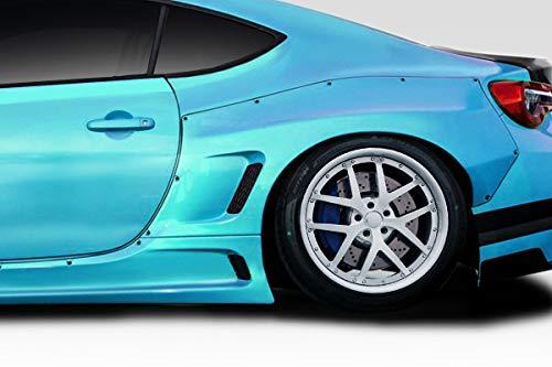 Duraflex Replacement for 2013-2019 Scion FR-S Toyota 86 Subaru BRZ Widebody GT500 V3 Rear Fender Flares - 2 Piece