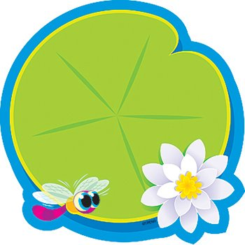* CLASSIC ACCENTS LILY PAD ONE DESIGN by MotivationUSA
