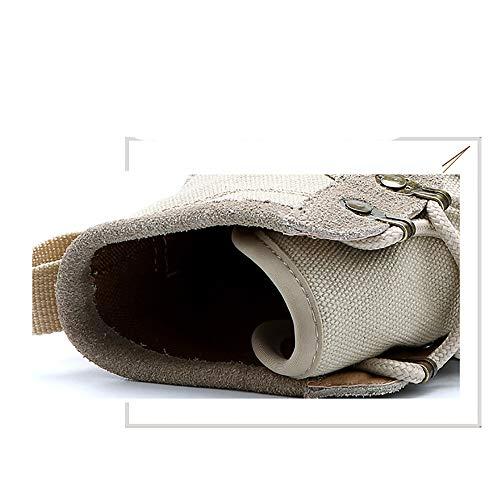 in in di Stivali Pizzo Martin Spesso Stivaletti Stivaletti EU Bianca di 2 Spessore Colore Pelle Dimensione Studente 3 con Marrone Stivali Singoli 38 wExXq