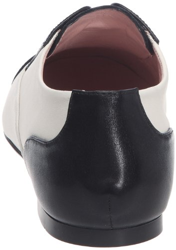 Ballerinas Black 40732 Flats Sand Ballet Blanc Noir Womens Gueta Coton Pretty Oq4dPP