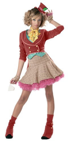 The Mad Hatter Teen/Junior Costume - Teen Small ()