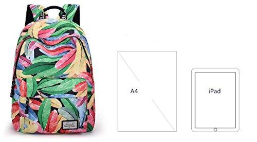 Bolso de hombro ligero de la capacidad grande, impresi¨®n mochila estudiantil-A A