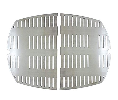 Cookingstar Replacement Part Kit for Weber Series Grills, Stainless Steel Casting Cooking Grates (Weber Q300 and Q3000 Series Grills) (Weber Q320 Grill)