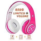 MIDOLA Kids Headphones Bluetooth Wireless Over Ear Headset for Children Boys Girls