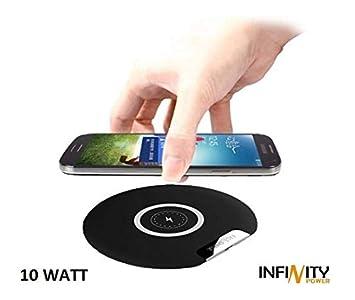 INFINITYPOWER Cargador inalámbrico Qi para iPhone XS/XS MAX ...