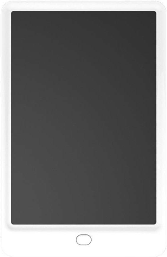 LCDライティングタブレット落書き製図板ポータブル電子機器のデジタル手書きパッド10インチ ペン&タッチ マンガ・イラスト制作用モデル (Color : White)