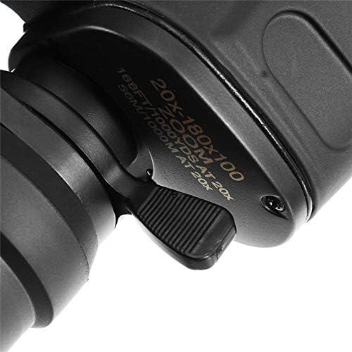 Cobeky Binoculares Telescopio de Alta Claridad al Aire Libre Binoculares Profesionales Noche V20X180X100 Telescopio de Senderismo Acampada