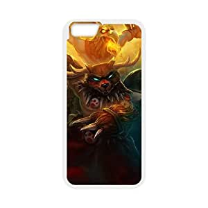 iPhone 6 Plus 5.5 Inch Cell Phone Case White League of Legends Primal Udyr UN7385796