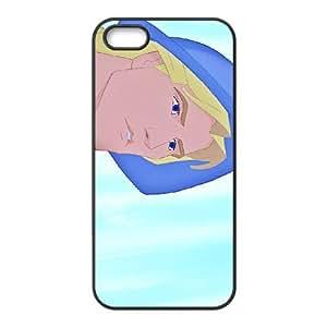 iPhone 5,5S Phone Case Black Pocahontas Captain John Smith DZW9550760