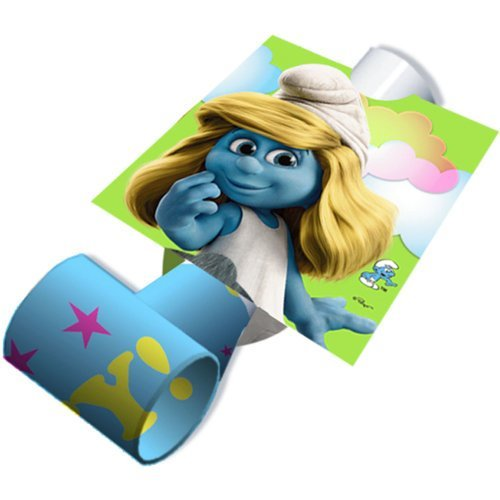 Smurfs Birthday Party Favors - Blowouts