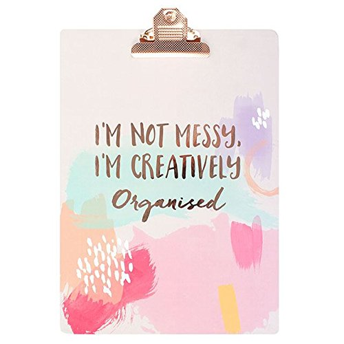 Im Not Messy Clip Board by Something different