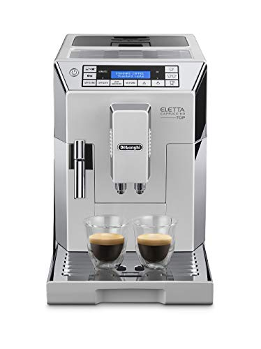 De'Longhi ECAM 45.760.W/Eletta Cappuccino Top Fully Automatic Espresso Machine