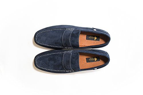 Navy Suede Crosby Loafer Gabicci Junction Delicious w6qAO4