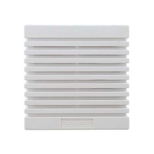 Ademco 746 Self Contained Indoor Wall Mount Siren Sounder Speaker, White