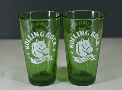 rolling-rock-beer-pint-glass-set-of-2-glasses