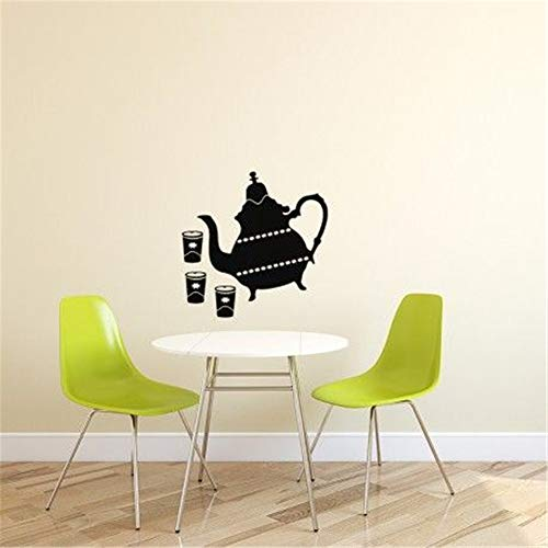 Theiere Tea - paecui Quotes Vinyl Wall Art Decals Saying Words Removable Lettering French théière orientale Oriental teapot