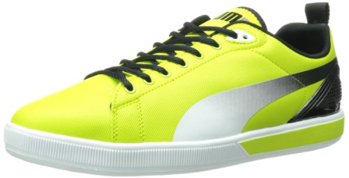 PUMA Mens FTR Suede Lite Lo Fluo Lace-Up Fashion Sneaker Lime Punch 3ib3XdU